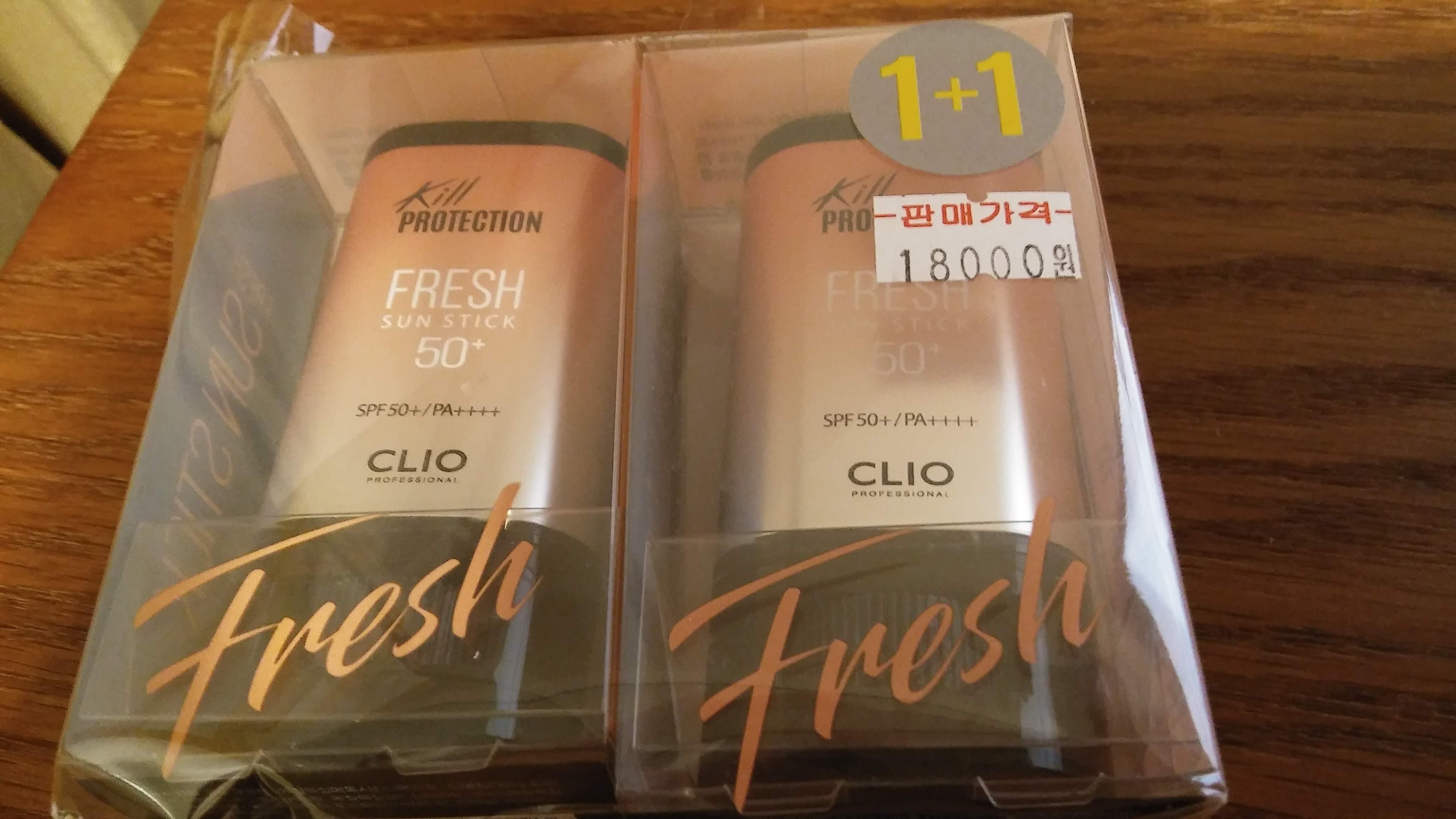 CLIO Kill PROTECTION FRESH SUN STICK SPF50