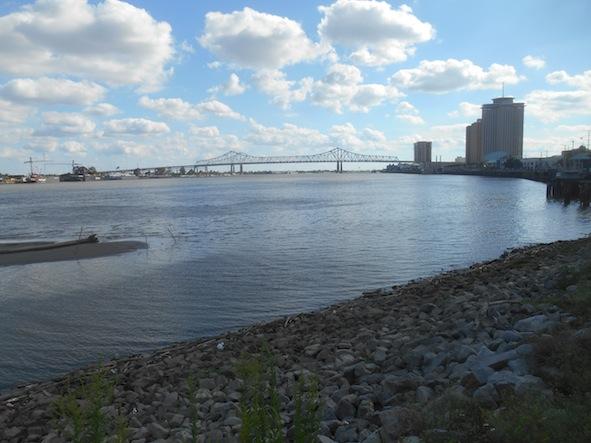 ニューオリンズ ミシシッピ川