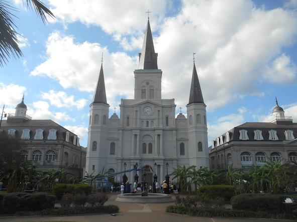 ニューオリンズ セントルイス大聖堂