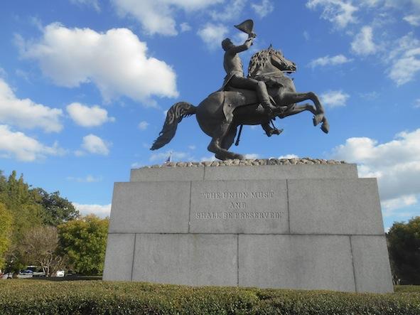 ニューオリンズ ジャクソン広場