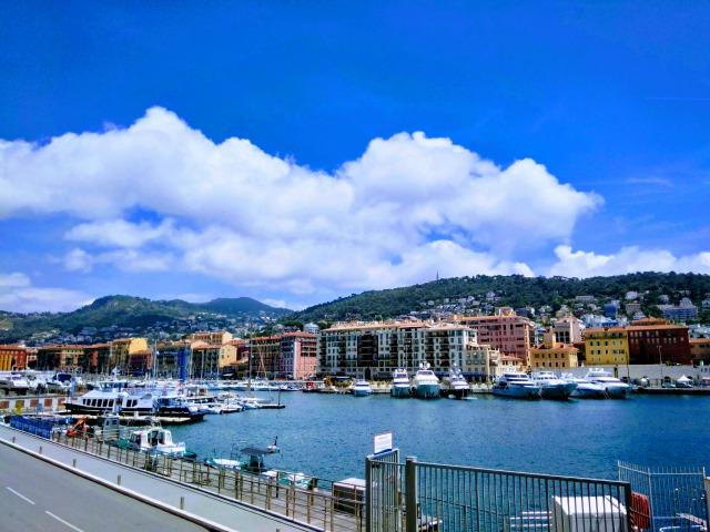 ニース港の風景