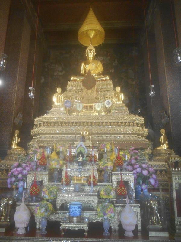 ワット・ポーの仏像