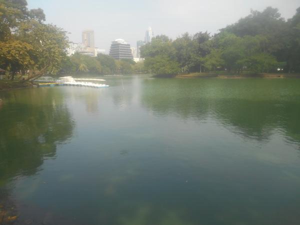 ルンピニー公園の景色