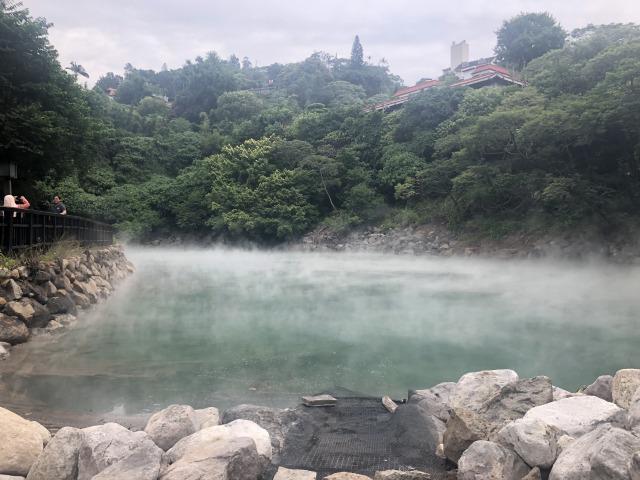 北投の温泉