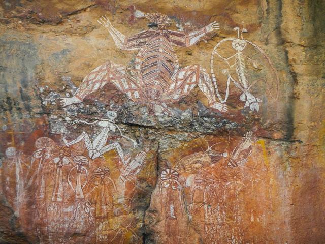 アボリジニのロックアート