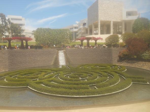 ロサンゼルスのゲティセンター