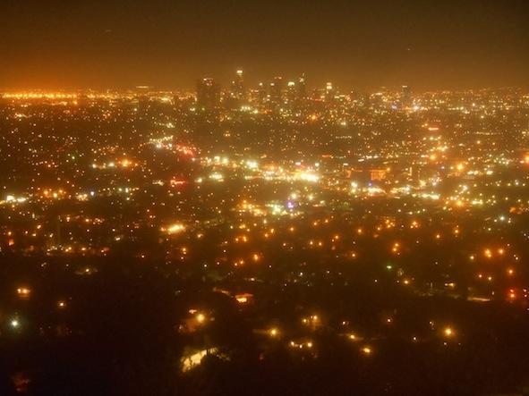 グリフィス天文台からの夜景
