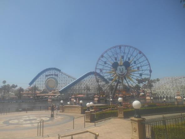 ディズニー・カリフォルニア・アドベンチャー・パークの景色