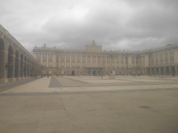 マドリード王宮の外観