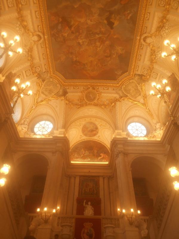 マドリード王宮の内部