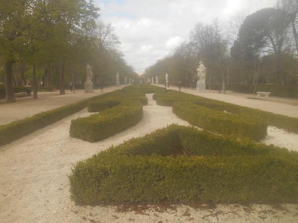 レティーロ公園の景色