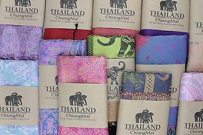 タイシルクのスカーフ