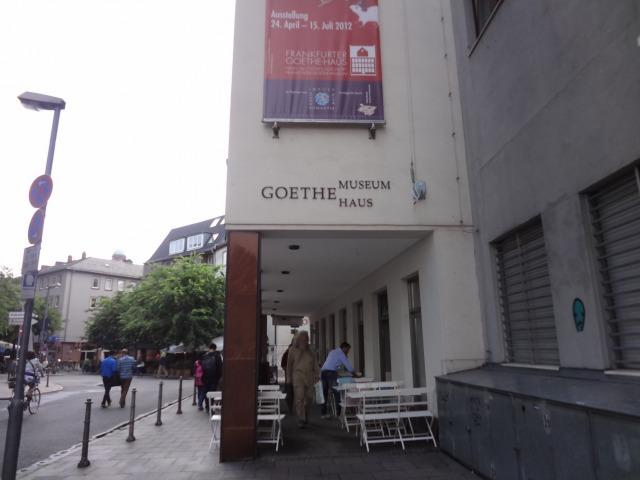 ゲーテハウス入口