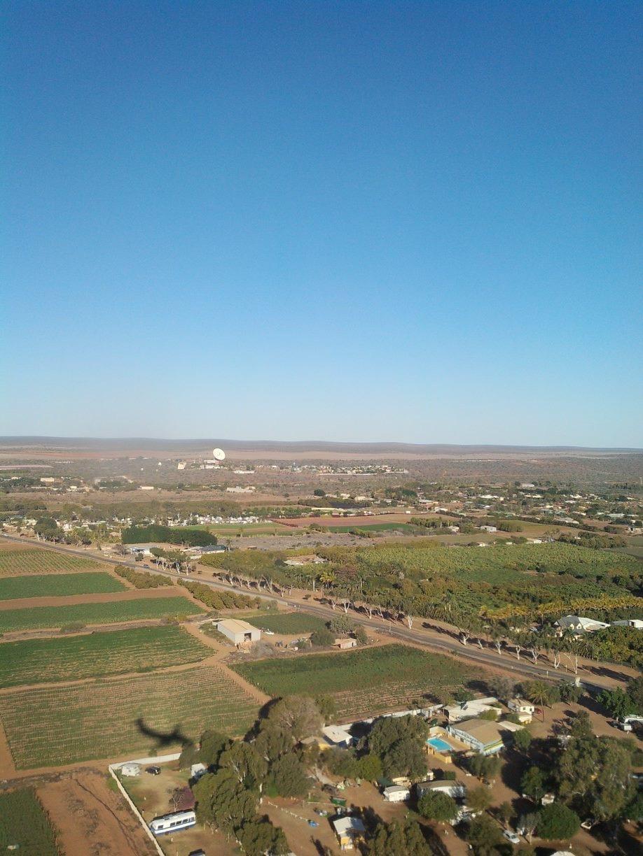 空から見た西オーストラリア州