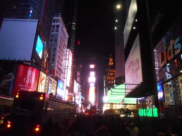 ニューヨークの景色