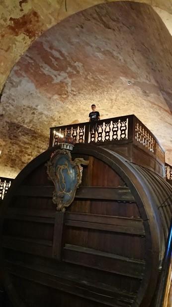 ハイデルベルク城の大樽