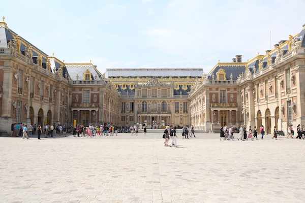 ベルサイユ宮殿の外観