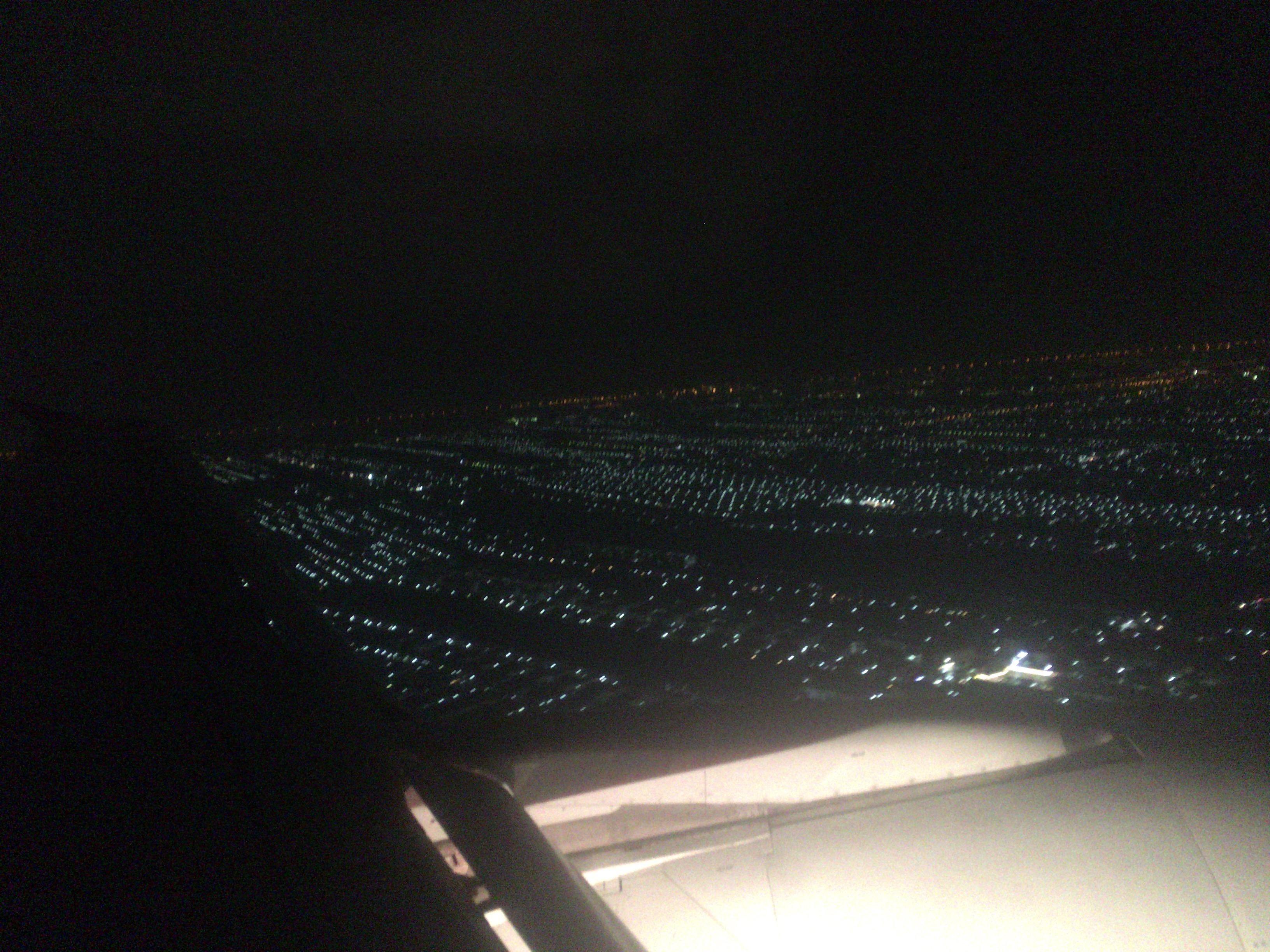 飛行機から見たチェンマイ