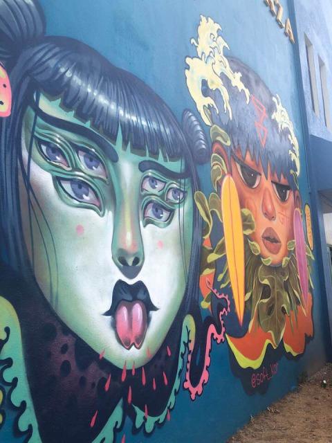 グアム壁画