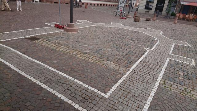 ハイデルベルク Kornmarkt