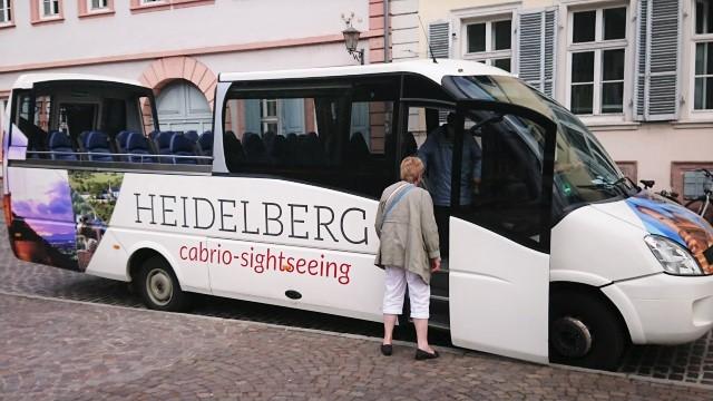 ハイデルベルク オープンバス