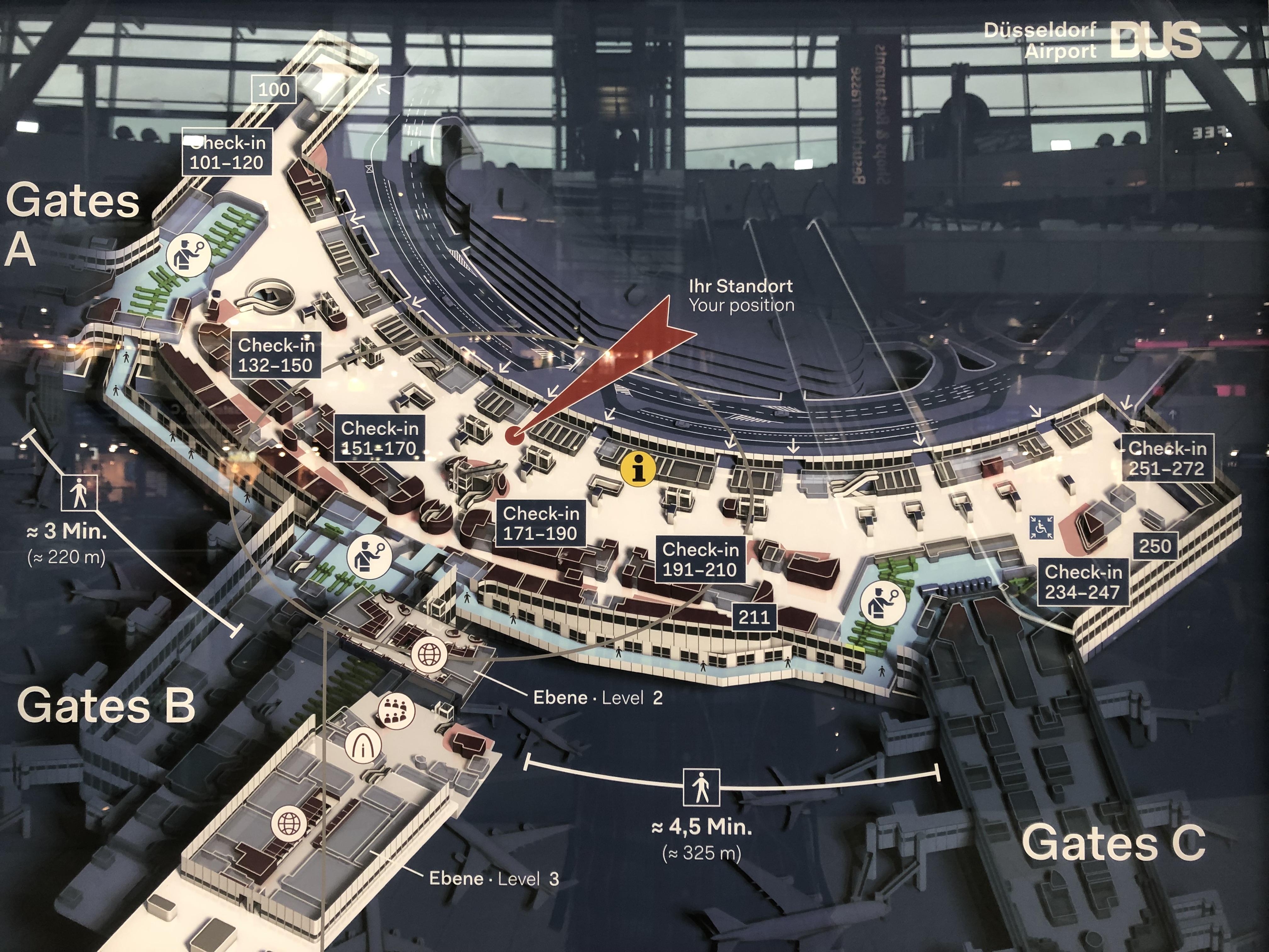 空港内マップ
