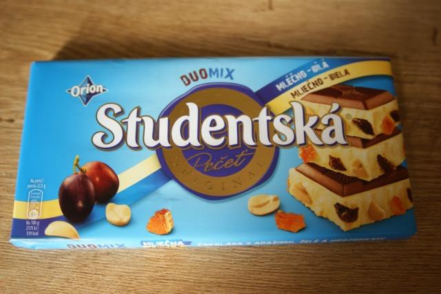 たっぷりのナッツとフルーツが美味しいStudentska