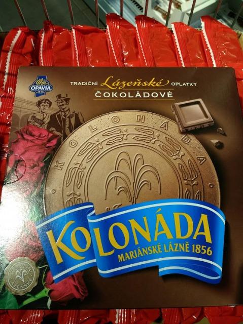 チェコの有名お土産のKolonada