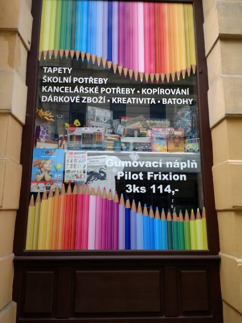 チェコの文房具屋