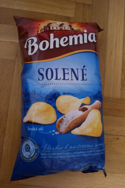 チェコのポテトチップスといえばBohemia