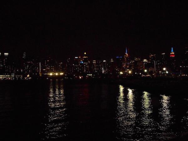 ニュージャージー州からの眺め
