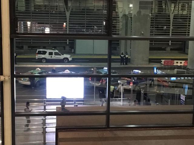 浦東国際空港タクシー乗り場