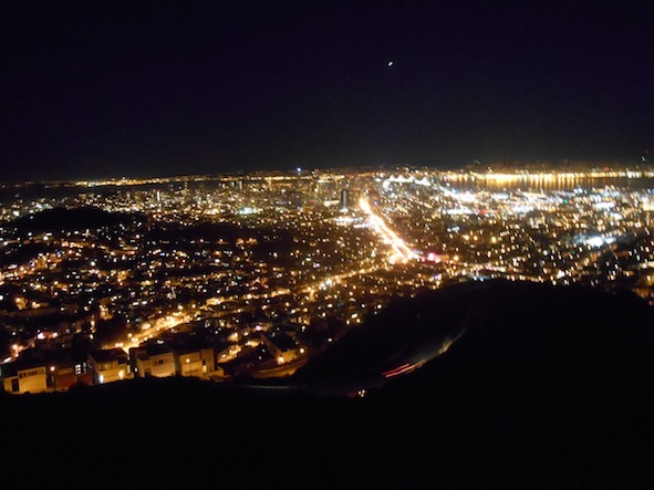 サンフランシスコのツインピークス