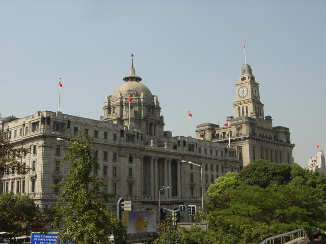 香港上海銀行と上海税関