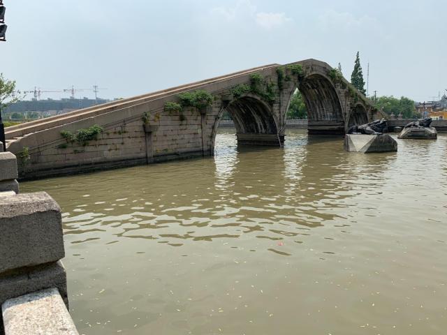 王江涇の大運河にかかる明代の橋