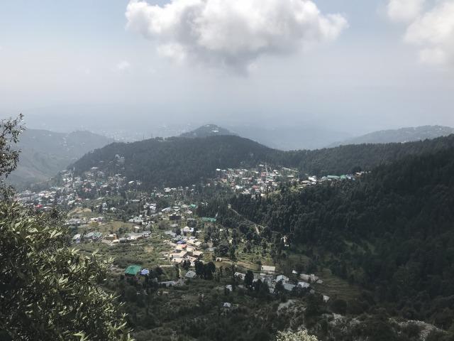 トリウンド丘からの眺め