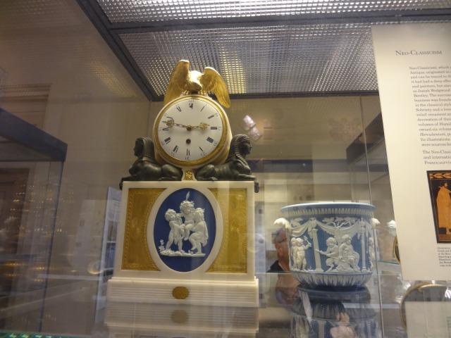 大英博物館内の展示