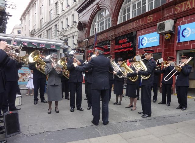 ロンドンの音楽隊