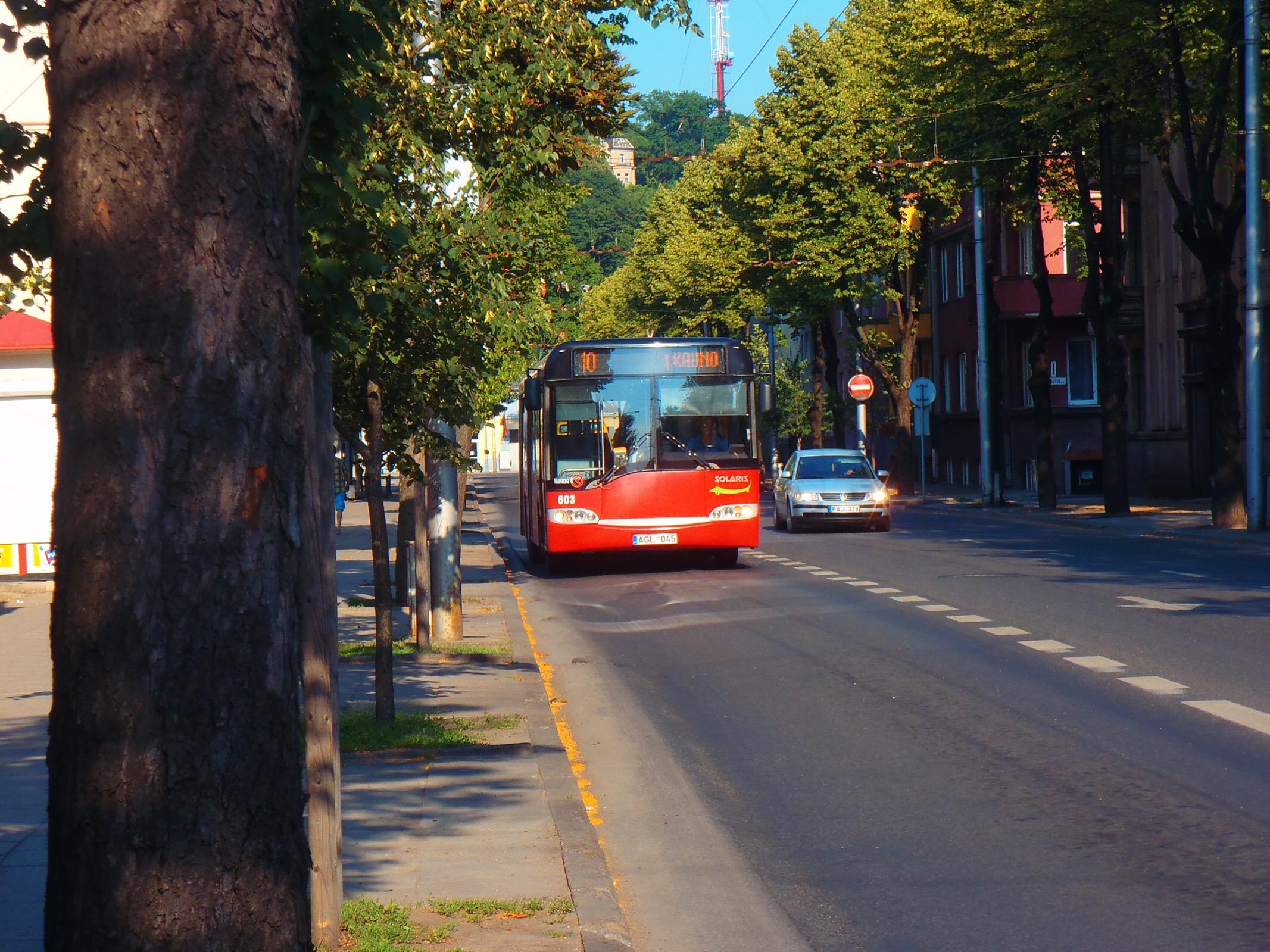 リトアニアの路線バス
