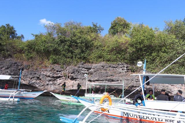 セブ島のボート