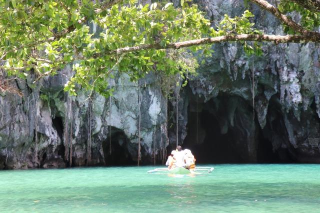 パラワン島のグラウンドリバー