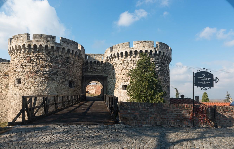 ベオグラード要塞入り口