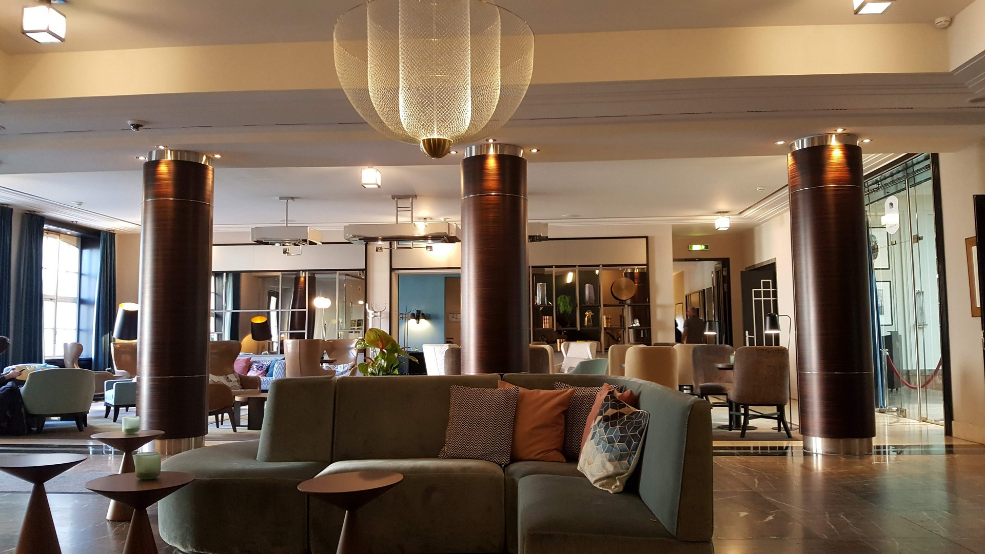ワイマールにあるホテルのロビー