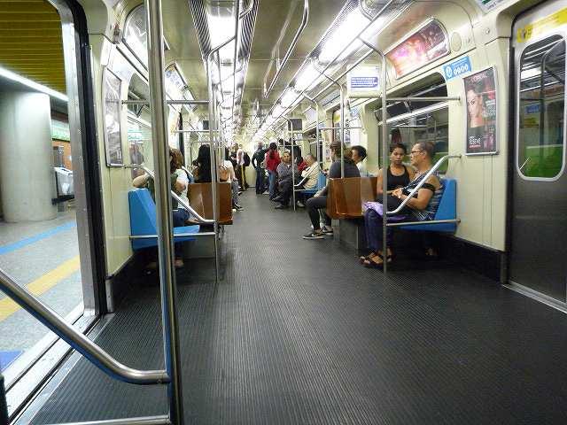 サンパウロのメトロ(地下鉄)