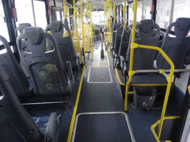 サンパウロ バス車内