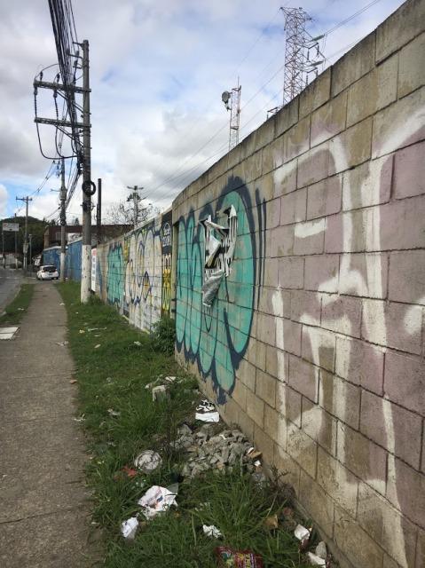 サンパウロ 道
