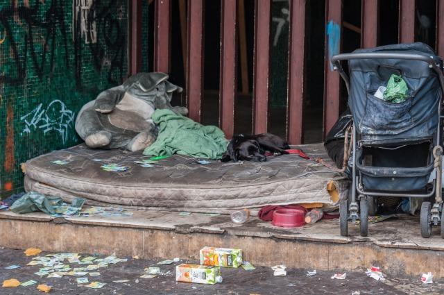 ホームレス サンパウロ