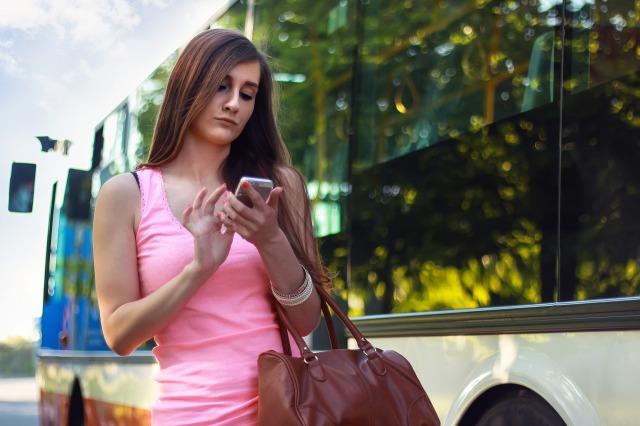 携帯電話 女性