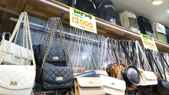 韓国のバッグ