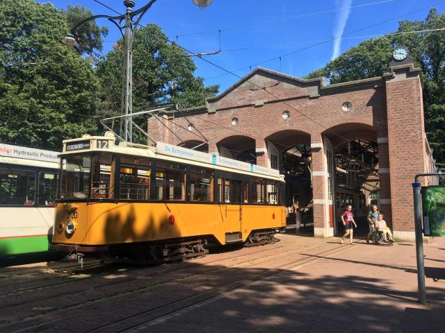 オランダレトロ電車